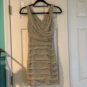 Express sequin party dress